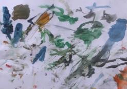 Ruxanda a pictat